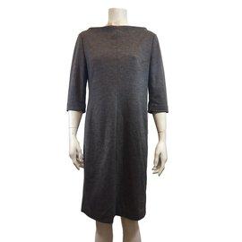 Diane Von Furstenberg-Dress-Grey