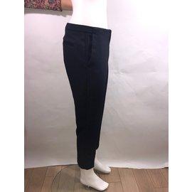 Tara Jarmon-Pantalon tailleur-Bleu Marine