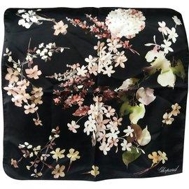 Chopard-Silk scarves-Black