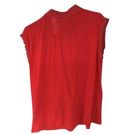 Lanvin-Tee-shirt-Rouge