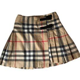 Burberry-Jupe fille-Multicolore