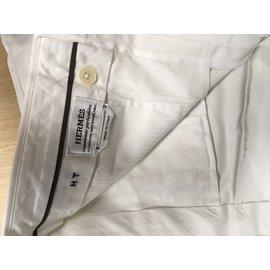 Hermès-Shorts-Écru