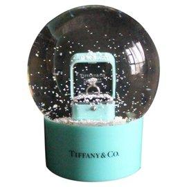 Tiffany & Co-Boule à  neige-Vert