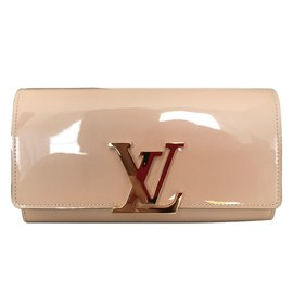 Louis Vuitton-Portefeuille Louise-Beige
