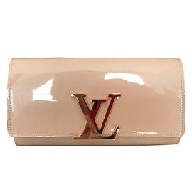Louis Vuitton-Portefeuille Louise-Beige