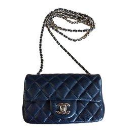 Chanel-Sac-Bleu Marine