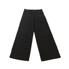 Chanel-Pants-Blue