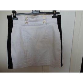 Chanel-Skirts-White