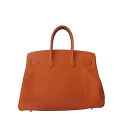 Hermès-Birkin 35-Orange