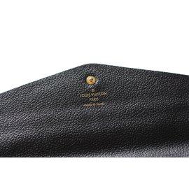 Louis Vuitton-Portefeuille-Bleu Marine