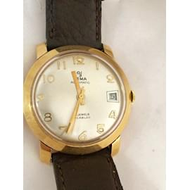 Yema-Vintage watch-Golden