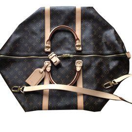 Louis Vuitton-Keepall 60-Beige