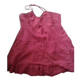 Autre Marque-Mini Robe / Tunique Benetton-Rouge