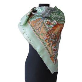 Hermès-AXIS MUNDI-Multicolore