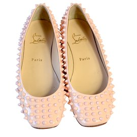 Christian Louboutin-Ballerines-Rose