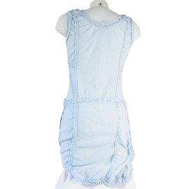 Louis Vuitton-Robe-Bleu