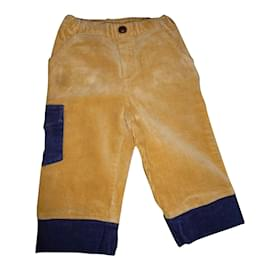 Baby Dior-Pantalons garçon-Beige