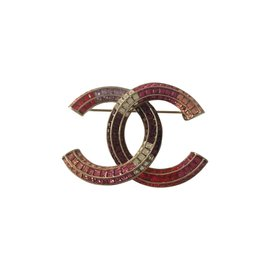 Chanel-Pins & brooches-Pink