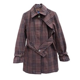 Burberry-Trench coat-Brown
