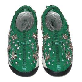 Dior-Turnschuhe-Grün