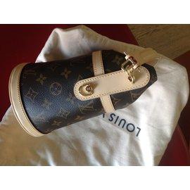 Louis Vuitton-Sac-Marron