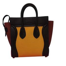 Céline-Micro luggage-Jaune