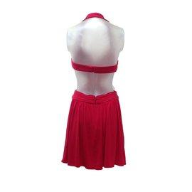 Bcbg Max Azria-Dress-Red