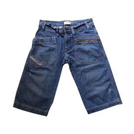 Diesel-Boy Shorts-Blue