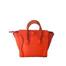 Céline-Nano Luggage-Orange