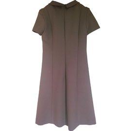 Tara Jarmon-Dress-Taupe