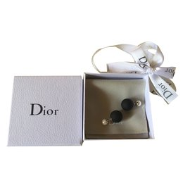 Dior-Boucles d'oreilles tribal-Multicolore