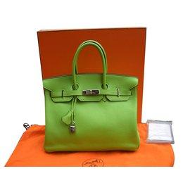 Hermès-Birkin 35-Green