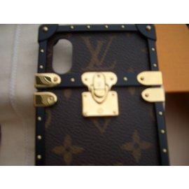 Louis Vuitton-eye trunk-Marron