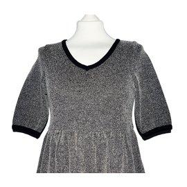 Ganni-Dress-Grey