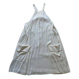 Bel Air-Robe YOLANDA-Écru