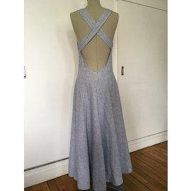 Escada-Dresses-Blue