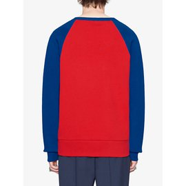 Gucci-Pulls, gilets homme-Rouge