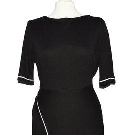 L.K.Bennett-Dress-Black,White