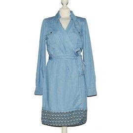 Diane Von Furstenberg-Dress-Blue