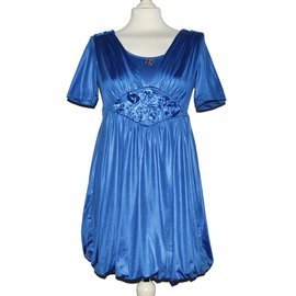 Roberto Cavalli-Dresses-Blue