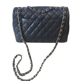 Chanel-Jumbo-Bleu Marine