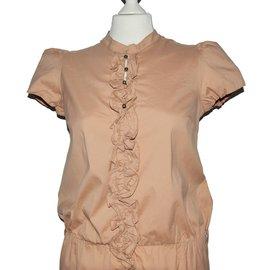 Patrizia Pepe-Dress-Brown