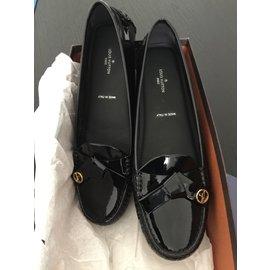 Louis Vuitton-Parklane loafer flat-Noir
