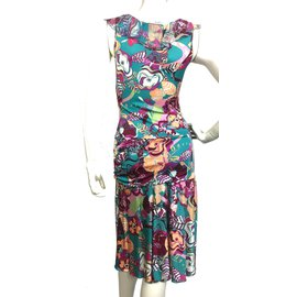 Emanuel Ungaro-Jersey dress-Multiple colors