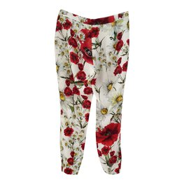 Dolce & Gabbana-Pantalons-Multicolore