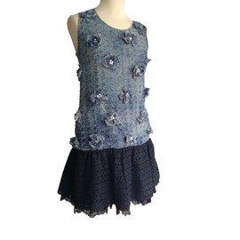 Miu Miu-Dresses-Black,Blue
