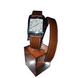 Hermès-Hermes CAPE COD Automatique CC1.710-Argenté