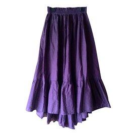 Kenzo-Jupes-Violet