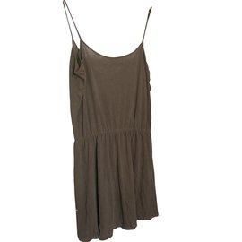 American Vintage-Robes-Marron