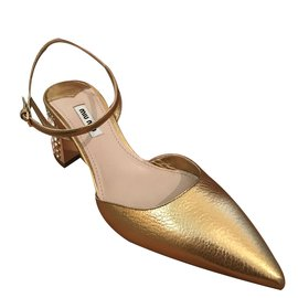 Miu Miu-Mules-bronze